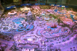The Walt Disney Family Museum Disneyland model