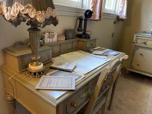 Mrs. Ainsley's desk