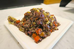 The Walt Disney Family Museum cafe vegan quinoa salad