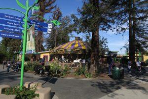 carousel at Happy Hollow in San Jose