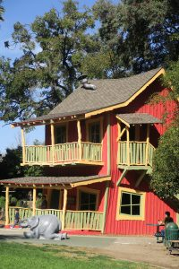 The Crooked House at Happy Hollow in San Jose