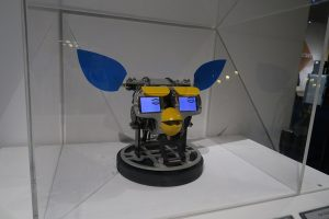 Furby-style robot at The Tech Museum in San Jose