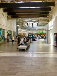 inside the remodeled Great Mall in Milpitas