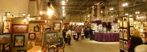 Inside the Harvest Festival Original Art & Craft Show