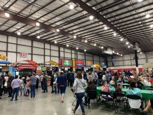 food court at Harvest Festival