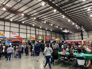 food court at Harvest Festival
